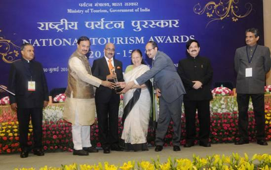 National Tourism Awards for the year 2014-15  Photo: Ministry of Tourism