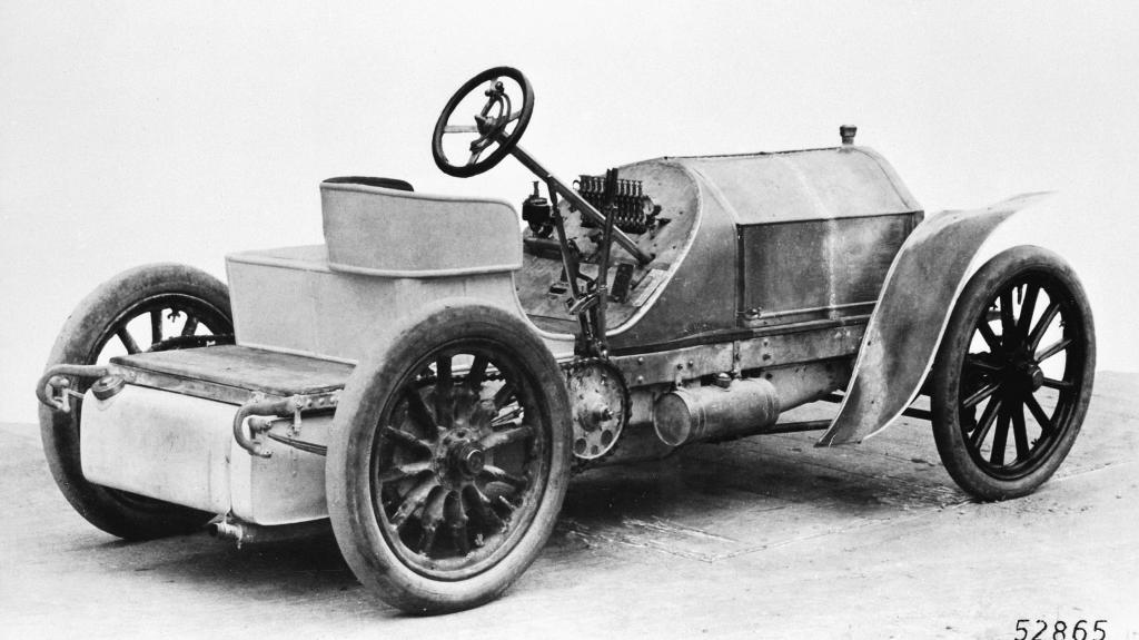 Mercedes 90 hp racing car.