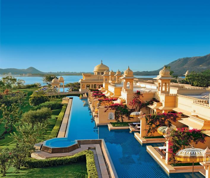 Premier Lake View Rooms with semi private pools Udaivilas Udaipur  Foto: Oberoi