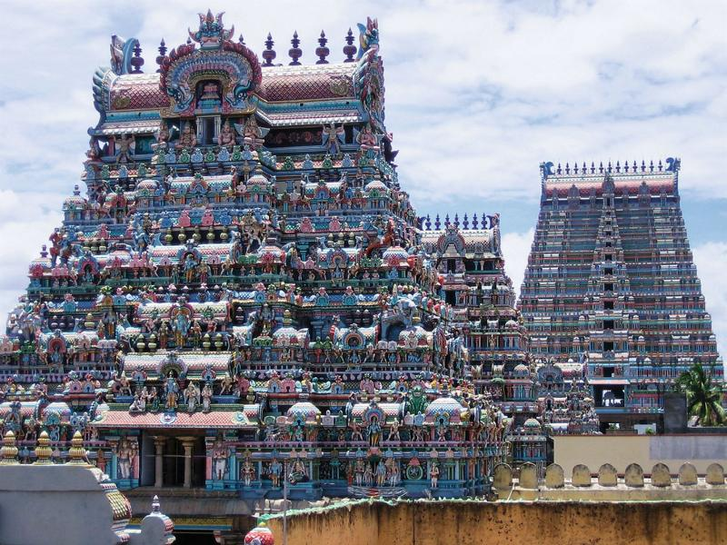 Tempel in Tiruchirapally  Foto: Lotus